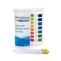 pH試験紙 プラスチックストリップ ボトル入 測定領域0〜14.0 9800 61-8517-59 (直送品)