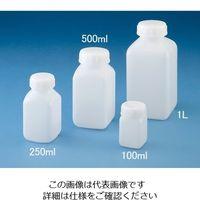ニッコー 広口角型規格瓶100ml 103001 1本(1個) 10-3001-55 (直送品)