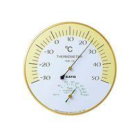 佐藤計量器製作所 ハーモニー温湿度計 1410-00 61-0096-71 1セット (直送品)