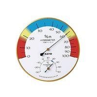 佐藤計量器製作所 メロディー温湿度計 1412-00 61-0096-72 1セット (直送品)