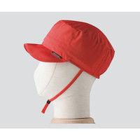 特殊衣料 保護帽(BOUSAI abonet) レッド 1個 3-4666-02 (直送品)