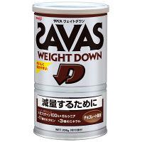 ザバス(SAVAS) ウェイトダウン チョコレート 16食分 336g 明治 プロテイン