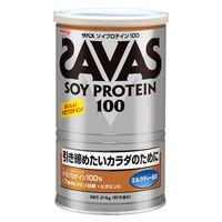 ザバス(SAVAS) ソイプロテイン100 ミルクティー 15食分 315g 明治 プロテイン