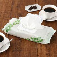 【LOHACO限定デザイン】エリエール 除菌できるウェットタオル 食卓テーブル用 大王製紙株式会社