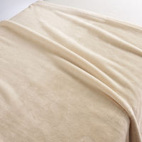 無印良品 あたたかファイバー厚手毛布・D/アイボリー 180×200cm 02525125 良品計画
