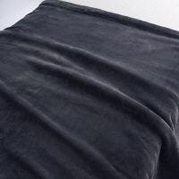 あたたかファイバー厚手毛布S/チャコール