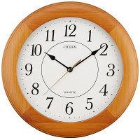 シチズン クオーツ木枠時計