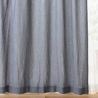 洗いざらしプリーツカーテン100×178