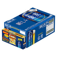 【ケース景品付】【チキンラーメン付】サントリー 新ジャンル 金麦 500ml × 24缶