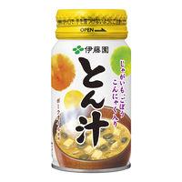 伊藤園 ホット用 とん汁 こんにゃくり(広口缶) 165g 1箱(30缶)