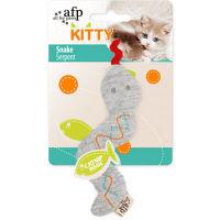 【ワゴンセール】afp KITTY スネーク 猫用 おもちゃ 1個 サンメイト
