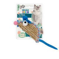 【ワゴンセール】afp Whisker FIESTA タコマウス 猫用 おもちゃ 1個 サンメイト