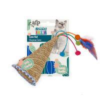 【ワゴンセール】afp Whisker FIESTA コーンハット 猫用 おもちゃ 1個 サンメイト