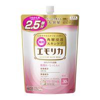 エモリカ 薬用スキンケア入浴液 フローラルの香り つめかえ用900ml