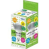 NEC B17061-56021 電球形LEDランプ LDR5NーWーE11/F ハ ロゲンランプ代替形 フロストレンズ(昼白色相当) 1個 (直送品)