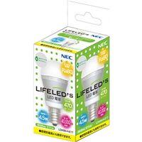 NEC B17061-56025 電球形LEDランプ LDA5NーHーE17 小形電 球形 密閉器具対応(昼白色相当) 1個 (直送品)