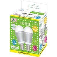 NEC B17061-56045 電球形LEDランプ LDA5NーHーE17ー2P 小形電球形 密閉器具対応 2個パック(昼白色相当) 1個 (直送品)
