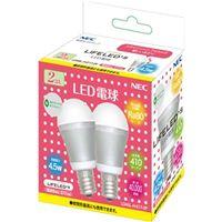 NEC B17061-56046 電球形LEDランプ LDA5LーHーE17ー2P 小形電球形 密閉器具対応 2個パック(電球色相当) 1個 (直送品)