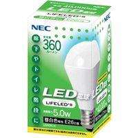 NEC B17061-56053 電球形LEDランプ LDA5NーH 一般電球形 ( 30W形相当、昼白色相当) 1個 (直送品)