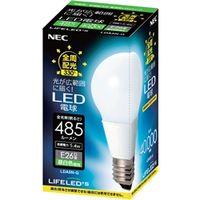 NEC B17061-56057 電球形LEDランプ LDA5NーG 一般電球形 全 周配光タイプ(40W形相当、昼白色相当) 1個 (直送品)