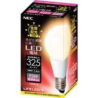 NEC B17061-56058 電球形LEDランプ LDA5LーG 一般電球形 全 周配光タイプ(40W形相当、電球色相当) 1個 (直送品)