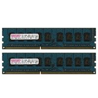 センチュリーマイクロ CK2GX2-D3UE1333 サーバー/WS用 PC3ー10600/DDR3ー1 333 4GBキット(2GB 2枚)ECC (直送品)