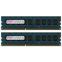 センチュリーマイクロ CK4GX2-D3UE1333 サーバー/WS用 PC3ー10600/DDR3ー1 333 8GBキット(4GB 2枚)ECC (直送品)