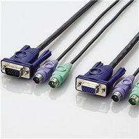エレコム KVM-NPC18 KVM切替器用ケーブル 1本 (直送品)