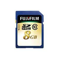 富士フイルム SDHC-008G-C10 SDHCカード 8GB 1個 (直送品)