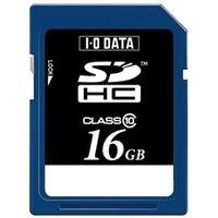 アイ・オー・データ機器 SDH-T16G スピードクラス10対応SDHCメモリーカード 16GB 1個 (直送品)