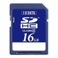 アイ・オー・データ機器 SDH-W16G 「Class 4」対応 SDHCカード 16GB 1個 (直送品)