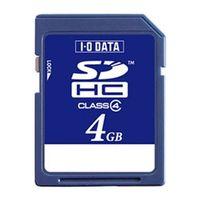 アイ・オー・データ機器 SDH-W4G 「Class 4」対応 SDHCカード 4GB 1個 (直送品)
