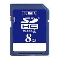 アイ・オー・データ機器 SDH-W8G 「Class 4」対応 SDHCカード 8GB 1個 (直送品)