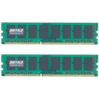 バッファロー D3U1333-2GX2 PC3ー10600(DDR3ー1333)対応 DD R3 SDRAM 240Pin用 DIMM 2GB×2枚 (直送品)