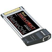 バッファロー LPC-CB-CLX 100BASEーTX/10BASEーT対応 Car dBus用LANカード カプラレス 1台 (直送品)