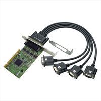 REX-PCI64D 4ポート RSー232C・デジタルI/O PCIボ ード 1個 ラトックシステム (直送品)