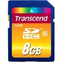 トランセンドジャパン TS8GSDHC10 8GB SDHC CARD Class 10 1個 (直送品)