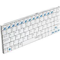 ユニーク E6300W Bluetoothキーボード rapoo E630 0 ホワイト 5.6mmウルトラスリム 1個 (直送品)