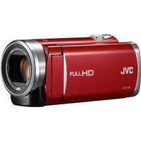 JVCケンウッド GZ-E225-R 8GBハイビジョンメモリームービー(フレッシュレッ ド) 1台 (直送品)