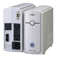ユタカ電機製作所 YEUP-051MA 常時商用方式UPSmini500II バッテリ期待 寿命7年/筐体ホワイトモデル接点通信対応 1台 (直送品)
