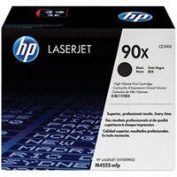HP(ヒューレット・パッカード) CE390X HP(ヒューレット・パッカード) 90X トナーカートリッジ 黒 大容量 1個 (直送品)