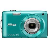 ニコン COOLPIXS3300GR デジタルカメラ COOLPIX S3300 ミント グリーン 1台 (直送品)