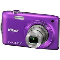 ニコン COOLPIXS3300PP デジタルカメラ COOLPIX S3300 ラベン ダーパープル 1台 (直送品)