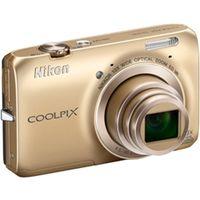 ニコン COOLPIXS6300GL デジタルカメラ COOLPIX S6300 エレガ ントゴールド 1台 (直送品)
