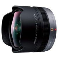 パナソニック H-F008 デジタル一眼レフカメラ用交換レンズHF008 1台 (直送品)