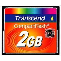 トランセンドジャパン TS2GCF133 2GB コンパクトフラッシュカード (133X、T YPE I) 1個 (直送品)