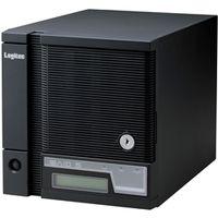 ロジテック LSV-5S2T/4CS WSS2008R2搭載 RAID5対応 キューブ型 NAS「竹」 4ドライブ 2TB/ブラック 1台 (直送品)