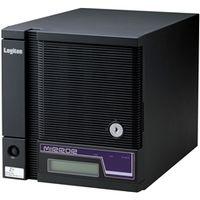 ロジテック LSV-MS1T/2CW WSS2008R2搭載 ミラーリング対応 キューブ 型NAS「竹」 2ドライブ 1TB/ブラック 1台 (直送品)