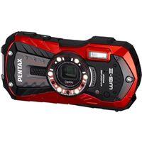 ペンタックス OPTIOWG-2RD 防水デジタルカメラ Optio WGー2 (バーミ リオンレッド) 約1600万画素 CALSモード 1台 (直送品)