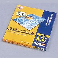 アイリスオーヤマ LZ-A3100 ラミネートフィルム 100ミクロン(A3サイズ)/ 1箱100枚入 1台 (直送品)